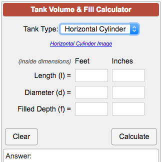 How to Calculate Gallons forecast
