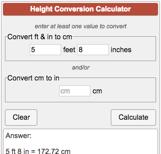 5 ft 8 inches in cm = 5 * cm + 8 * cm. How much is 5′ 8″ in cm has just been answered. If you like to convert another length measured in feet and inches than five ft .