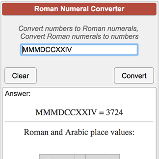 Calculators_conversions_roman Numeral Converter Png