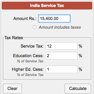 Writing service online tax interest calculator