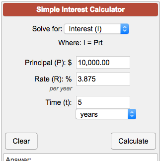 How to Use a Simple Interest Calculator to Find Your Payment Amount