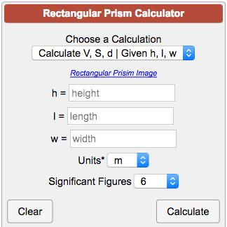 Calculatorsgeometry solidsrectangularprismg ccuart Images