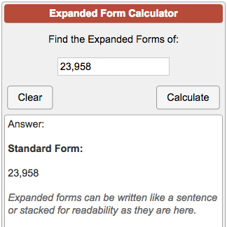 write the expanded form of 702  Expanded Form Calculator