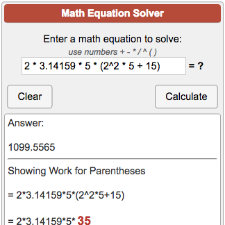 Free algebra calculator and solver.