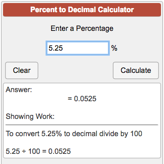 Calculators_math_percent To Decimal Calculator Png