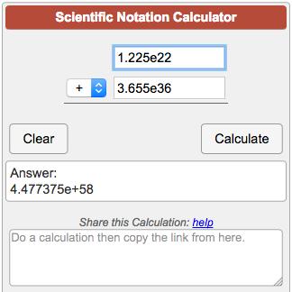 1 billion in scientific notation