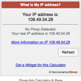 my ip adress